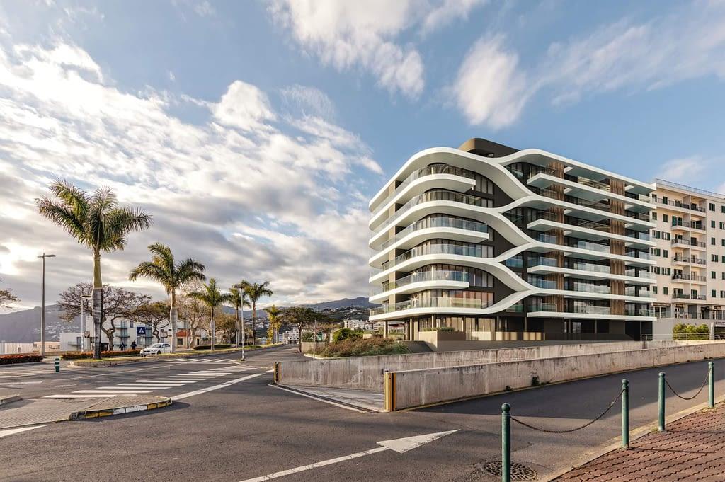Edifício Varino com fachada vista Funchal